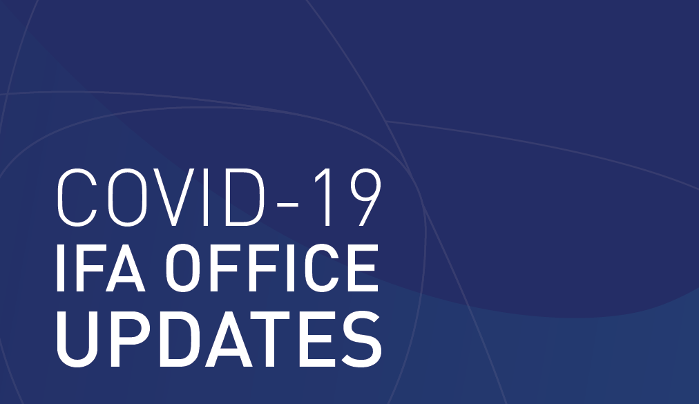 COVID-19 IFA office update